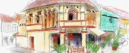 Sketching George Town
